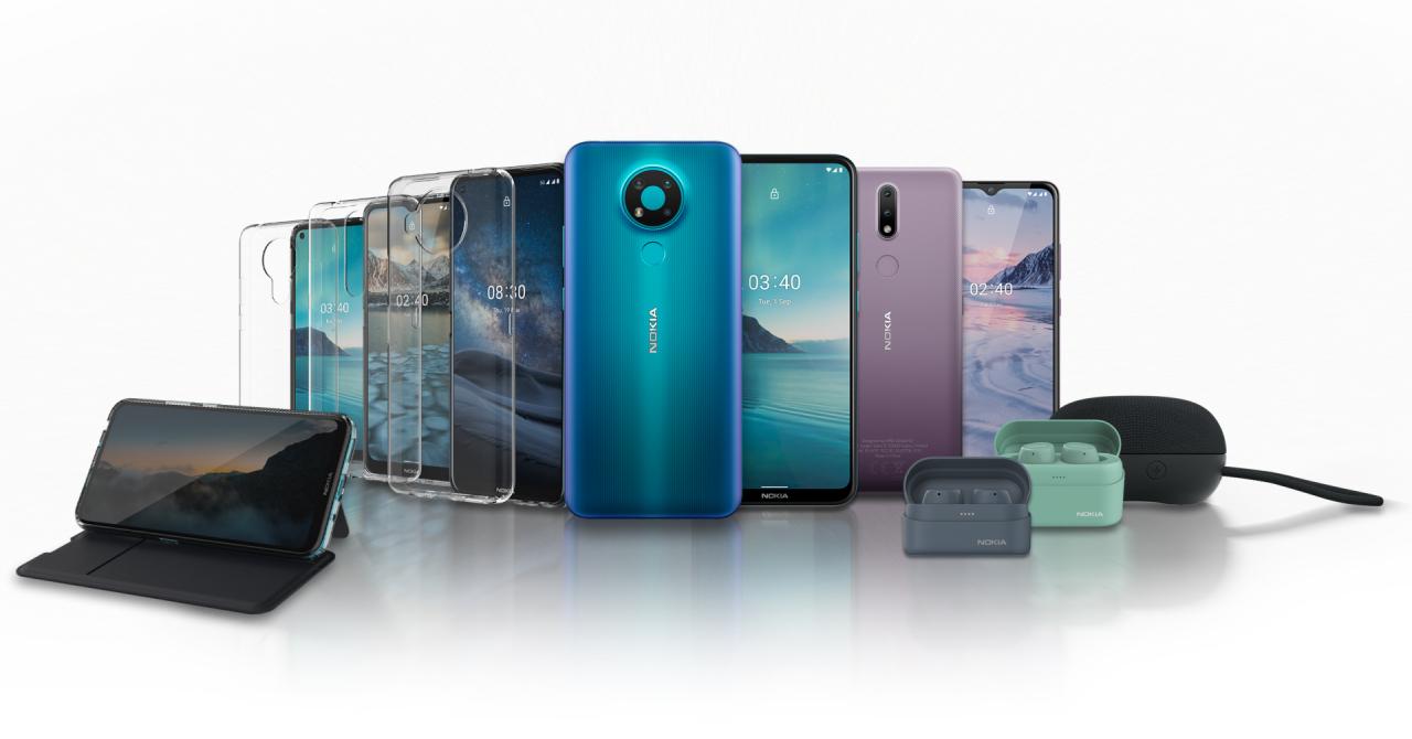 Nokia: două telefoane entry level, căști wireless și lansare pentru Nokia 8.3 5G