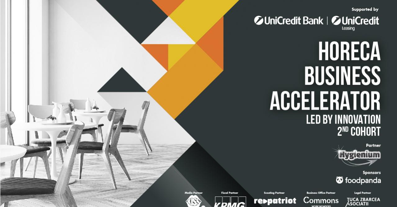 HoReCa Business Accelerator: granturi de 17.000 de euro