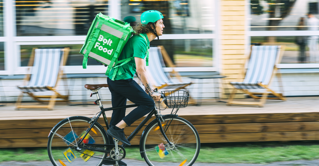 Bolt lansează propriul serviciu de livrare de mâncare