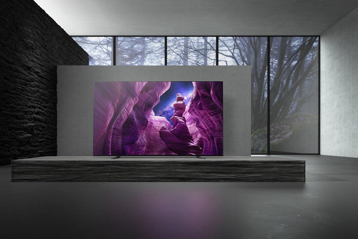 Televizoarele A8 4K HDR OLED ale Sony, disponibile în România