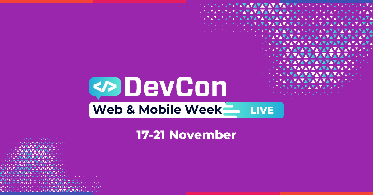 Speakeri Google, Spotify și Cognizant Softvision în cadrul Web & Mobile Week la DevCon Live