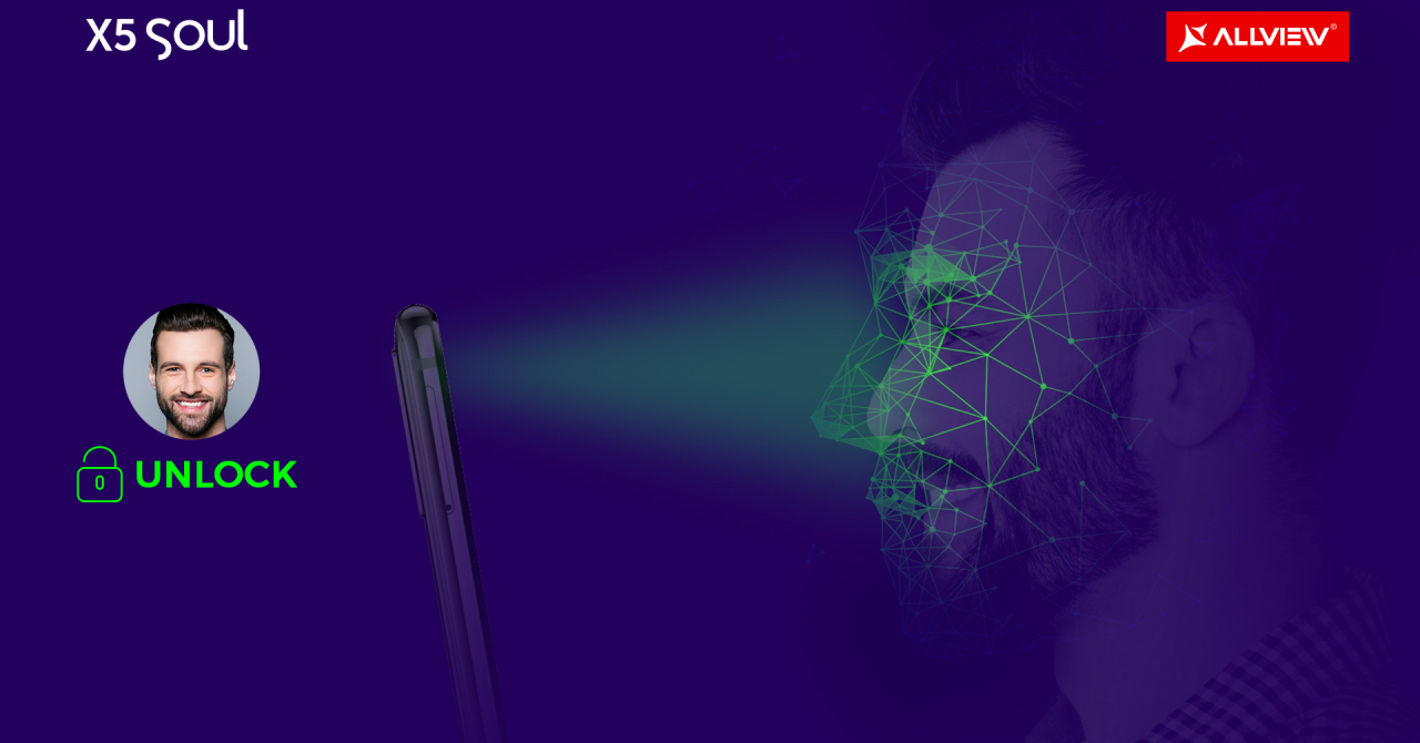 Allview pregătește un telefon cu recunoaștere facială avansată