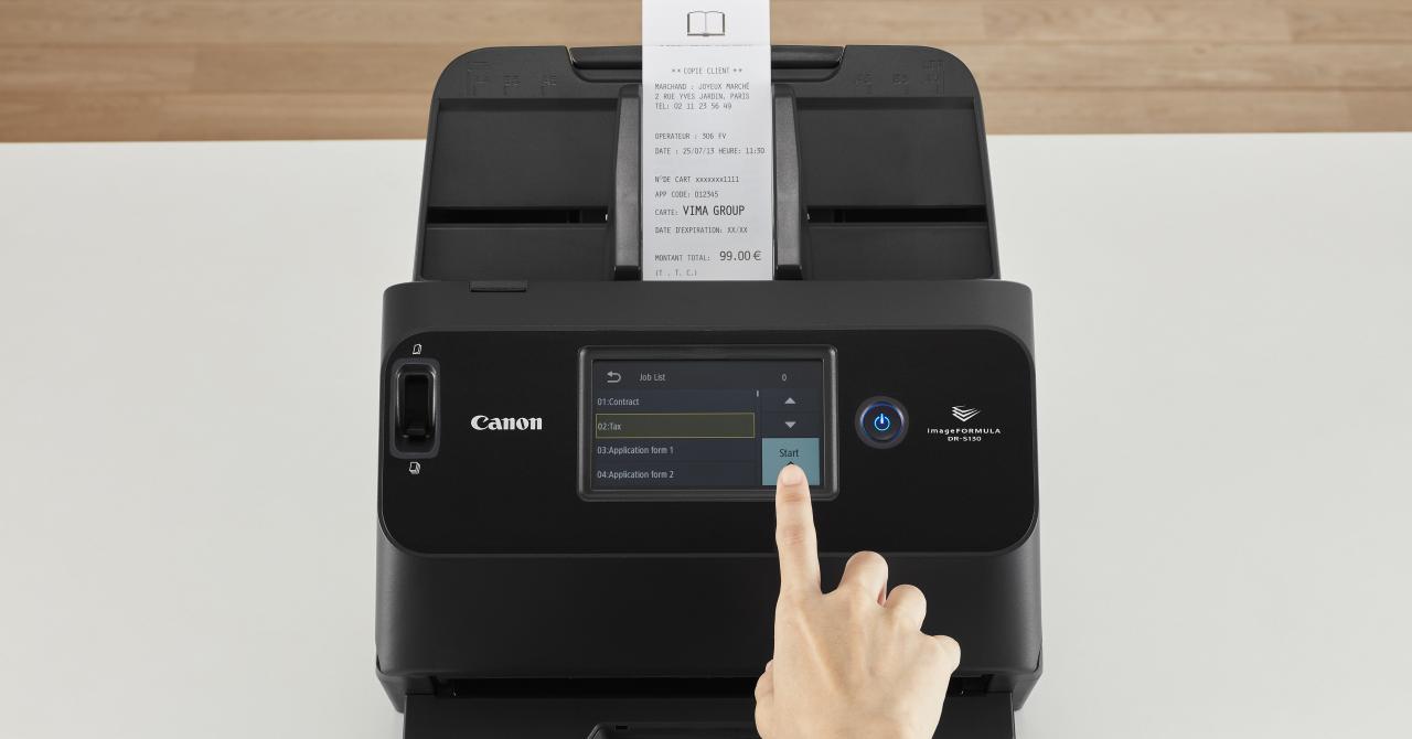 Canon lansează un nou scaner ultracompact pentru afacerile mici