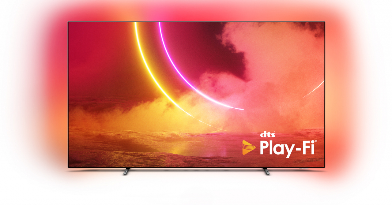 Philips TV este primul producător care integrează tehnologia audio DTS Play-Fi