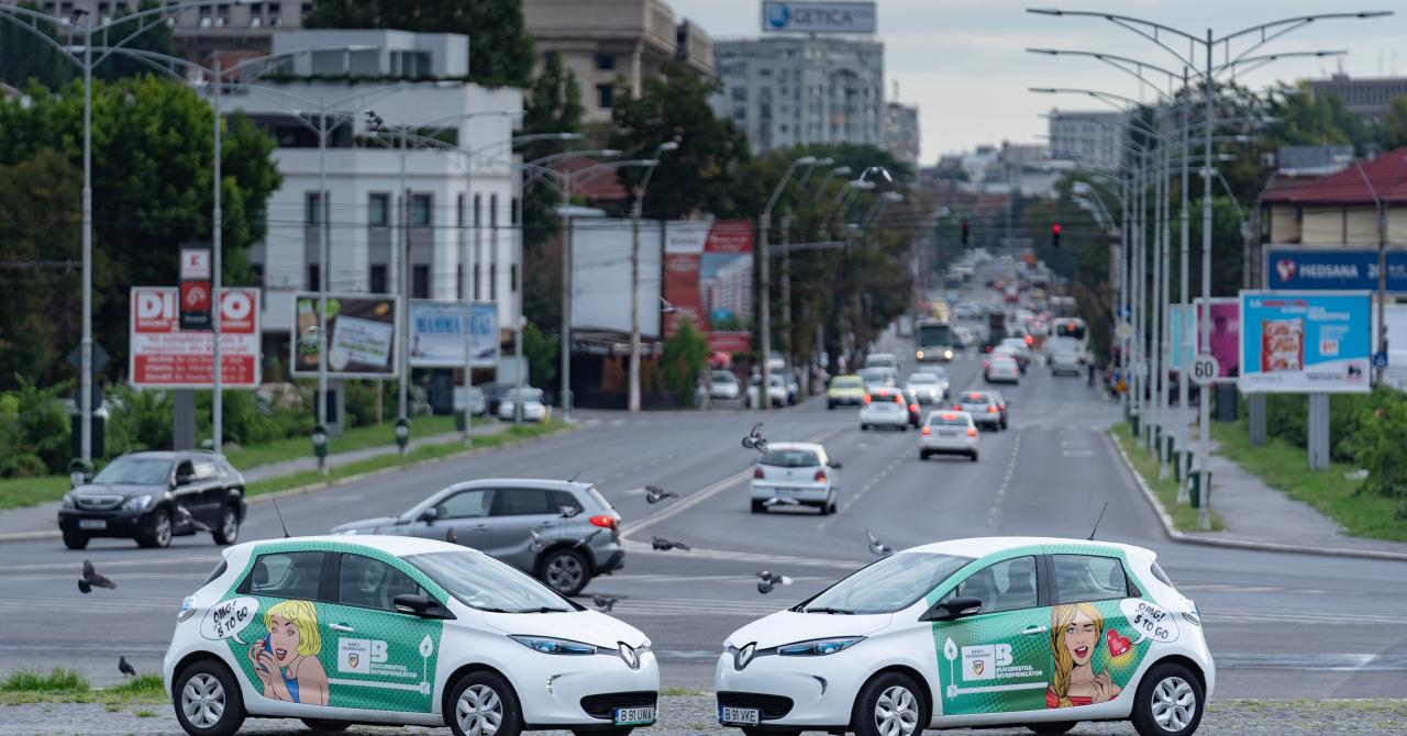 Banca Transilvania și 5 to go finanțează leasing-ul pentru UberGreen