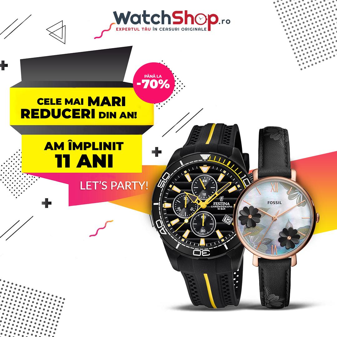 WatchShop.ro sărbătorește 11 ani de existență cu o campanie de reduceri