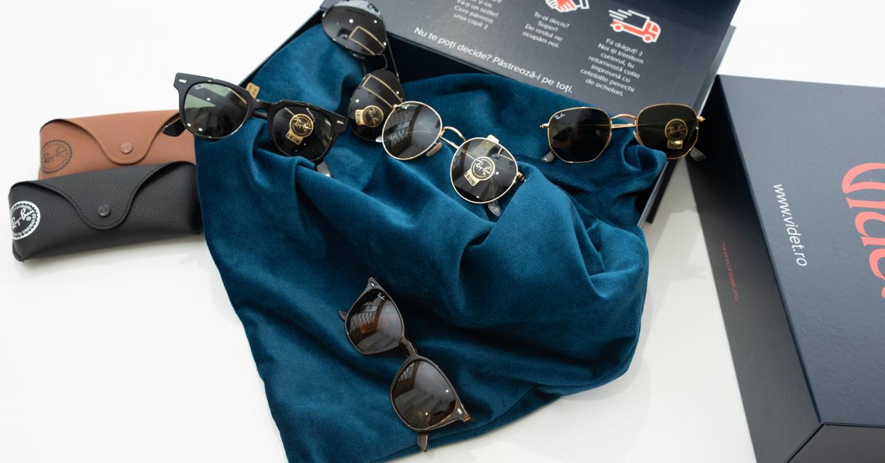 Magazinul online românesc ce permite să probezi cinci ochelari acasă