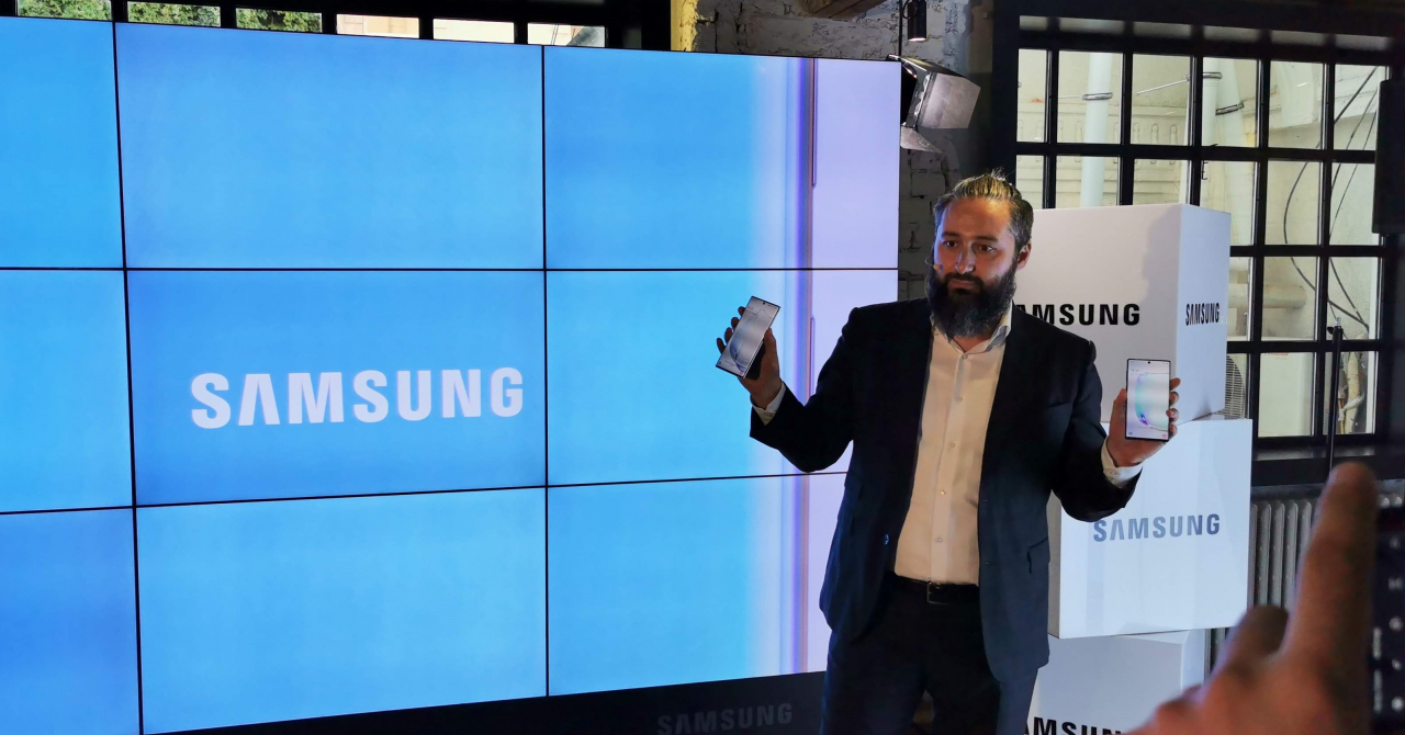 Samsung Galaxy Note 10 și Note 10 Plus, lansate oficial în România
