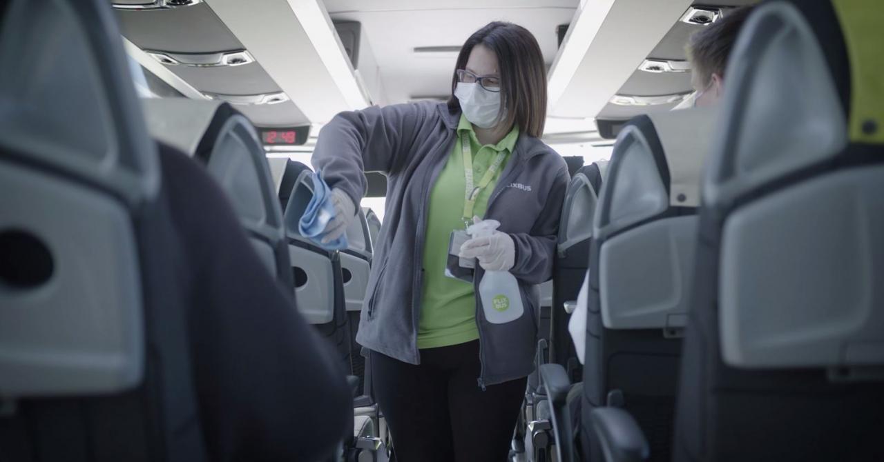 Coronavirus | Măsurile de siguranță luate de un unicorn din transport