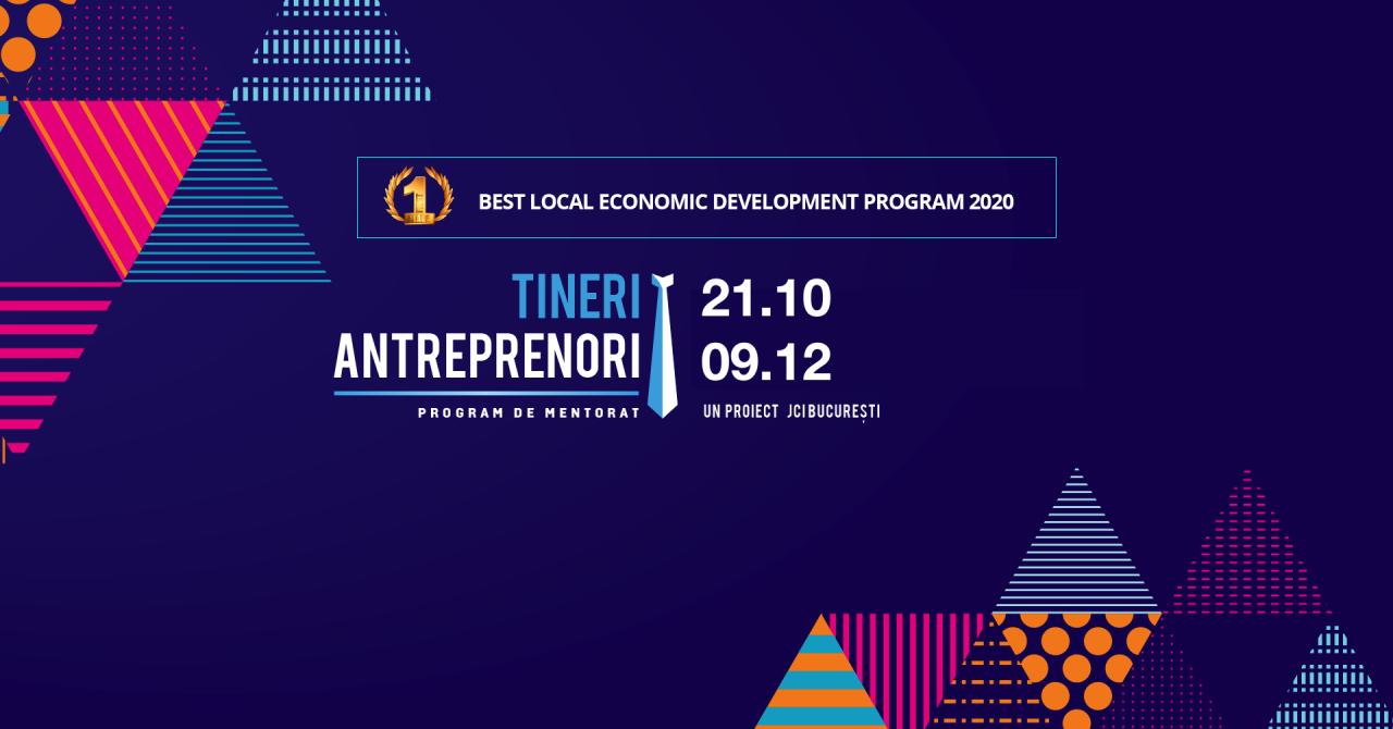 Tineri Antreprenori 2020: învață să gestionezi o afacere în vremuri tulburi