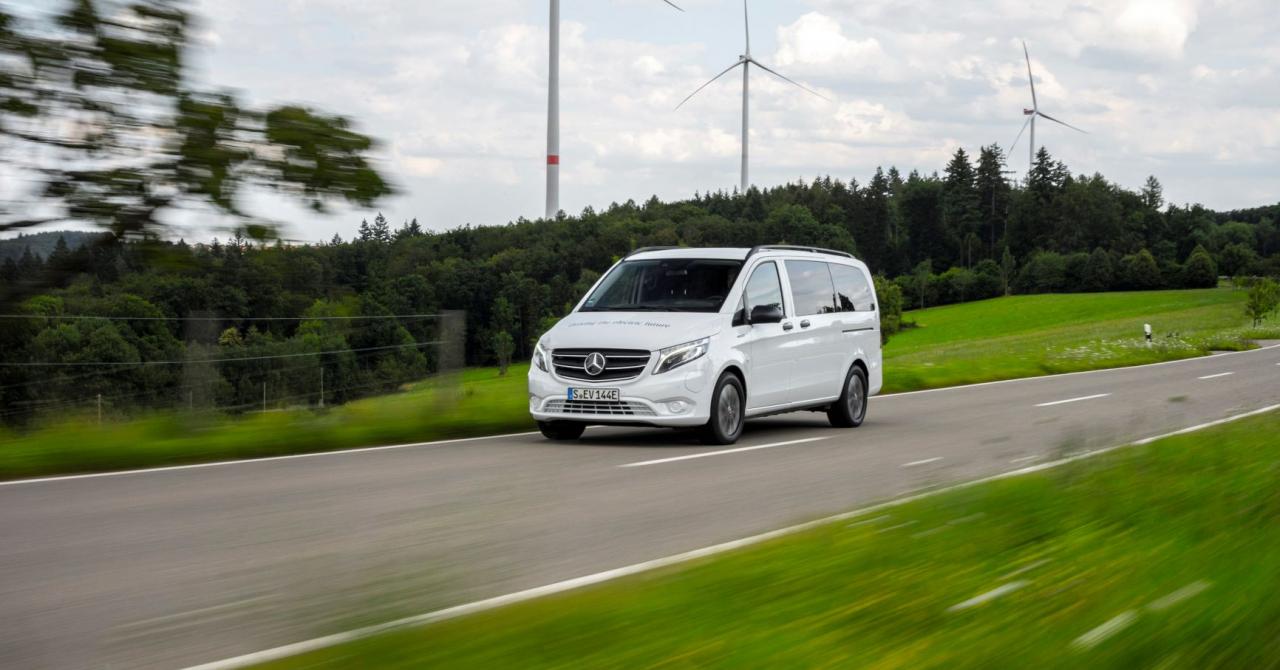 Dubița micului antreprenor, Mercedes-Benz Vito, vine în variantă electrică