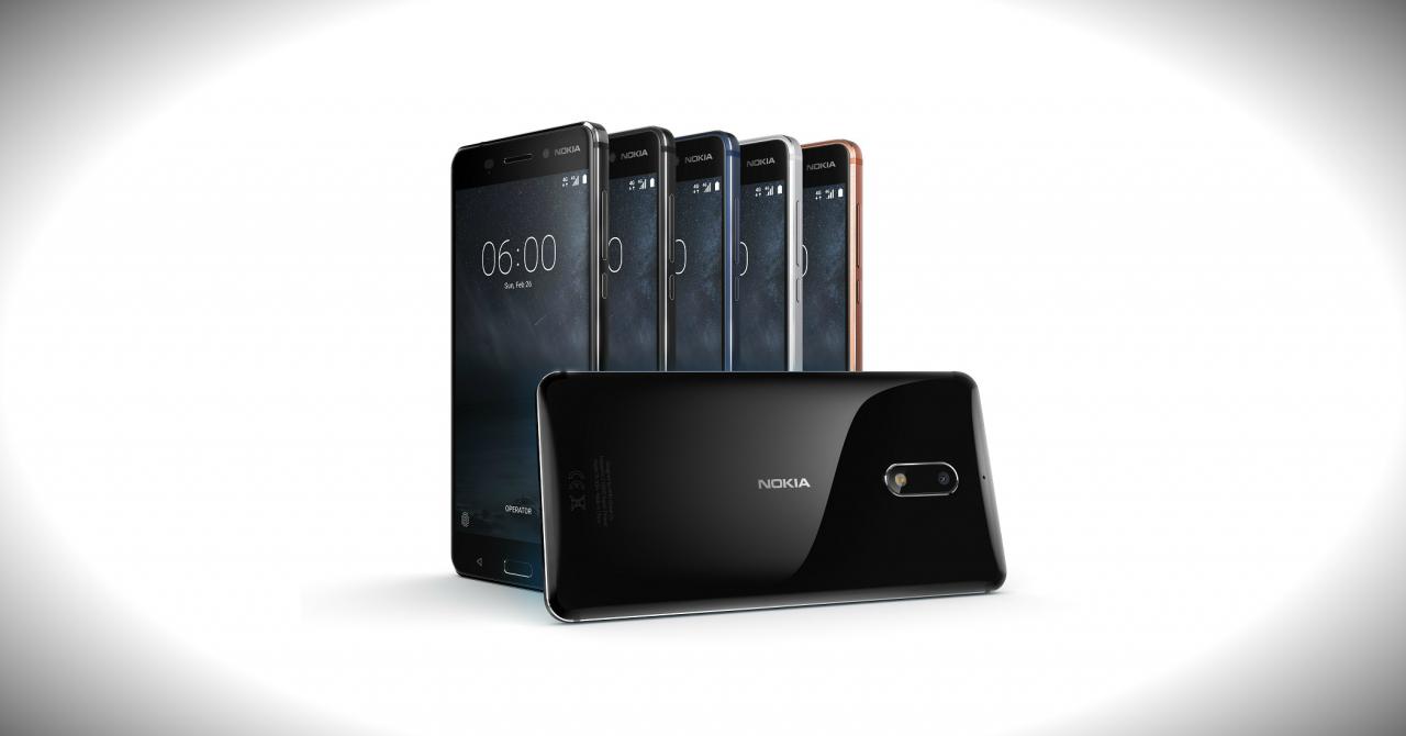 Nokia 6, Nokia 5 și Nokia 3, lansate oficial în România