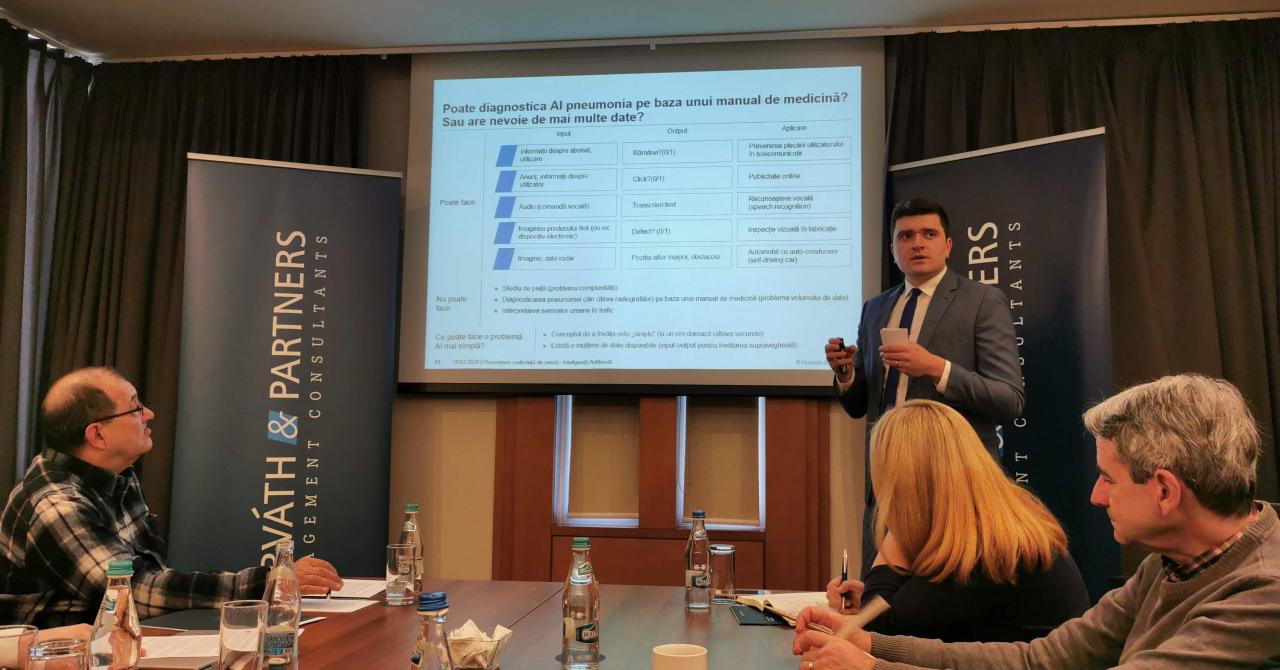 Până în 2025 investițiile în startup-uri AI românești vor ajunge la 50 mil. EUR