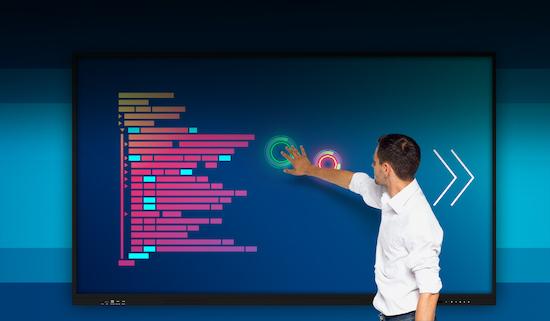 Prestigio Multiboard Light: Ecrane interactive pentru videoconferințe