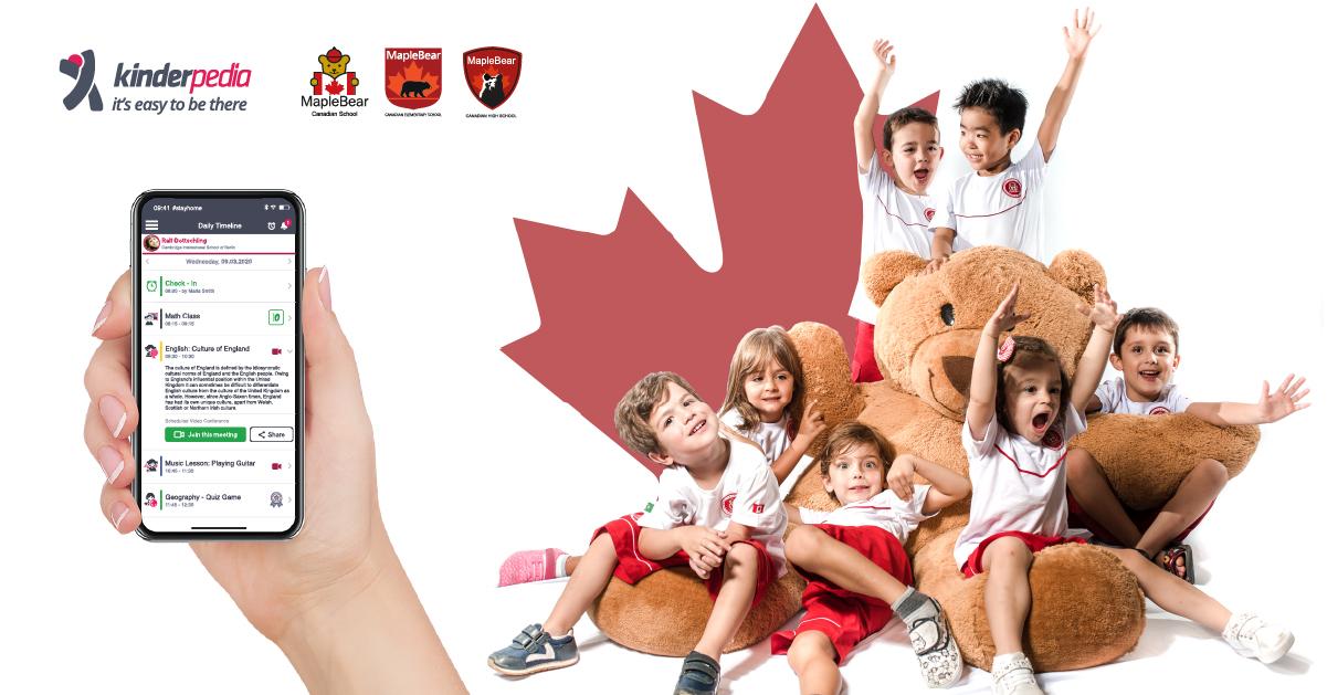 Maple Bear Central & Eastern Europe integrează Kinderpedia în școlile sale
