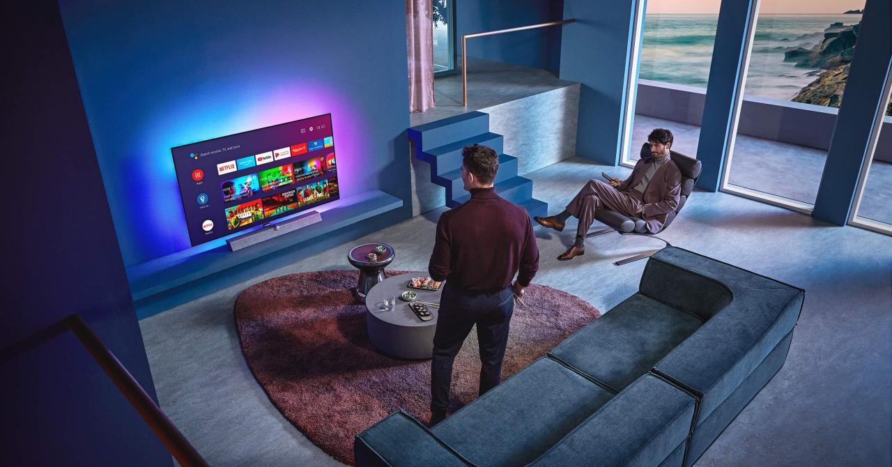 Philips introduce procesorul Philips P5 cu inteligență artificială în televizor