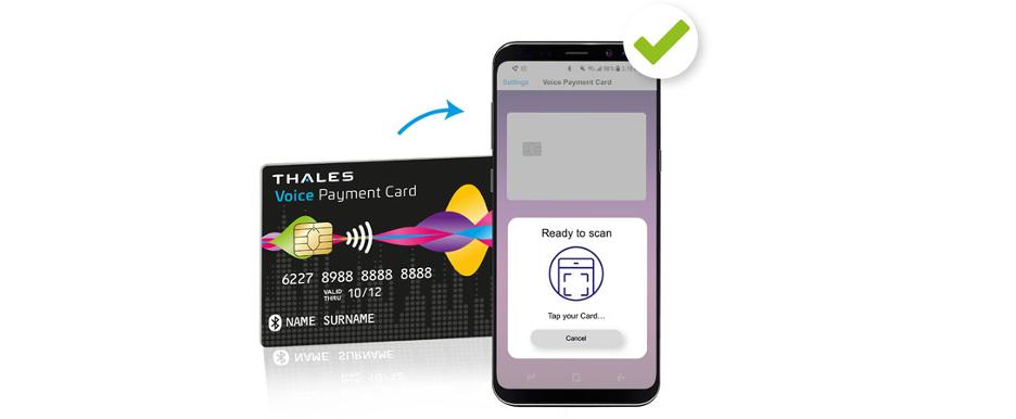 Cardul bancar cu aplicație vocală pentru persoanele cu deficiențe de vedere