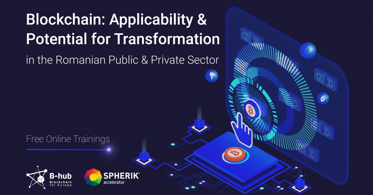Training gratuit de blockchain pentru sectorul public și cel privat