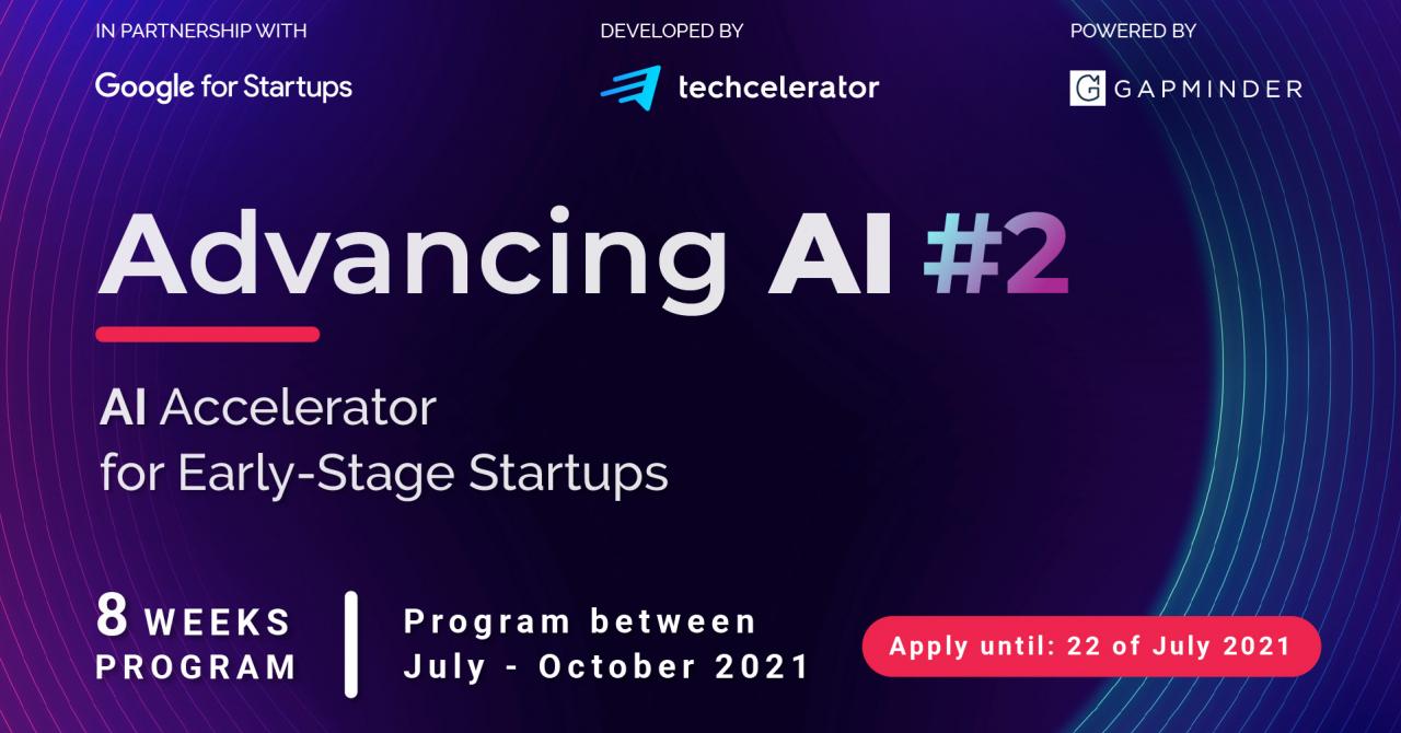 100 de startup-uri românești care folosesc AI. Înscrieri la Advancing AI #2