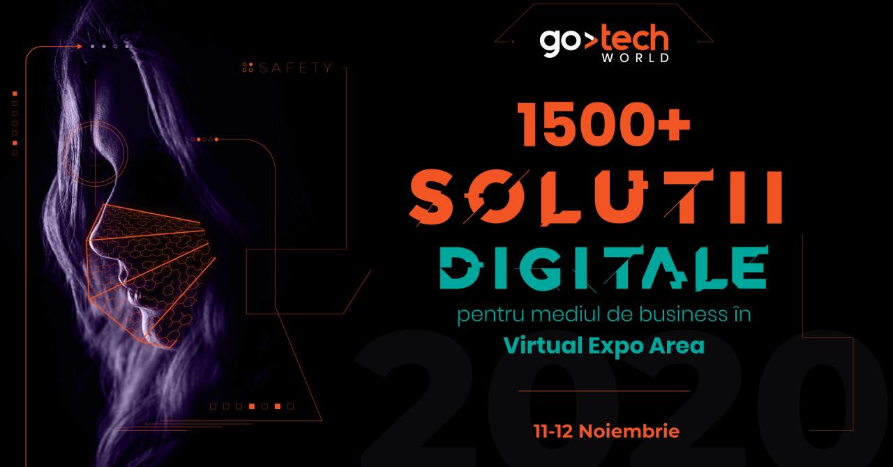 GoTech 2020: peste 1.500 de soluții digitale pentru retail, IT și marketing
