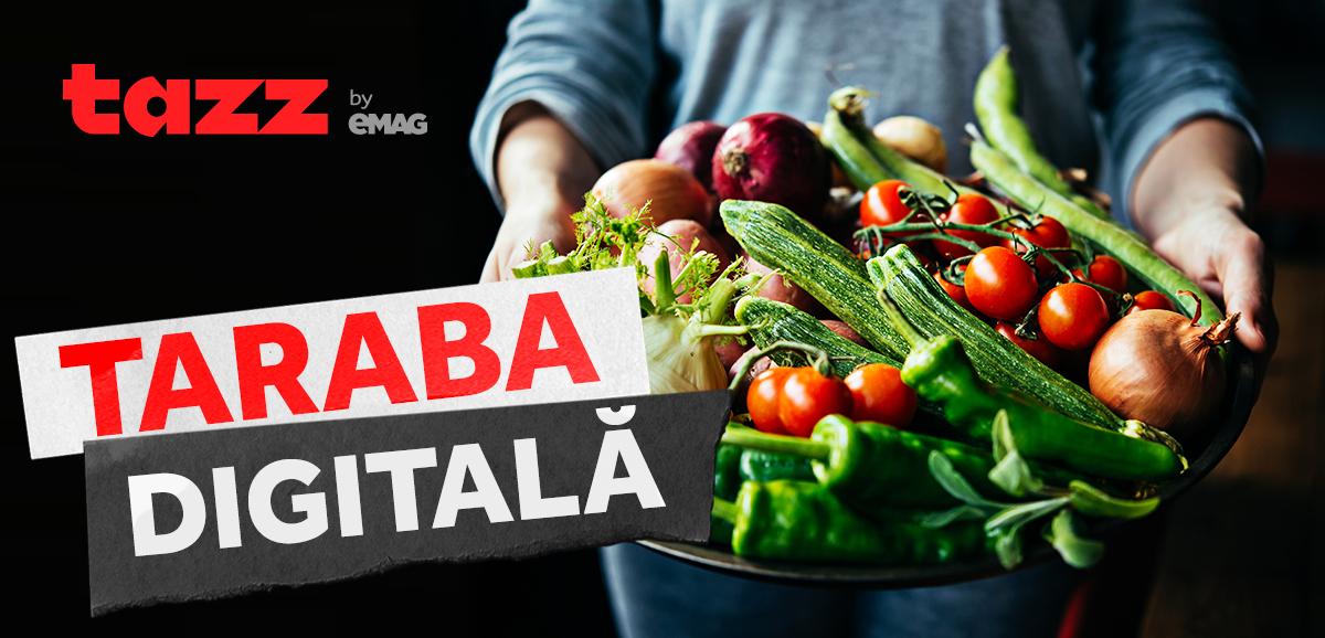 De acum poți cumpăra legume și fructe de la micii producători cu aplicația Tazz