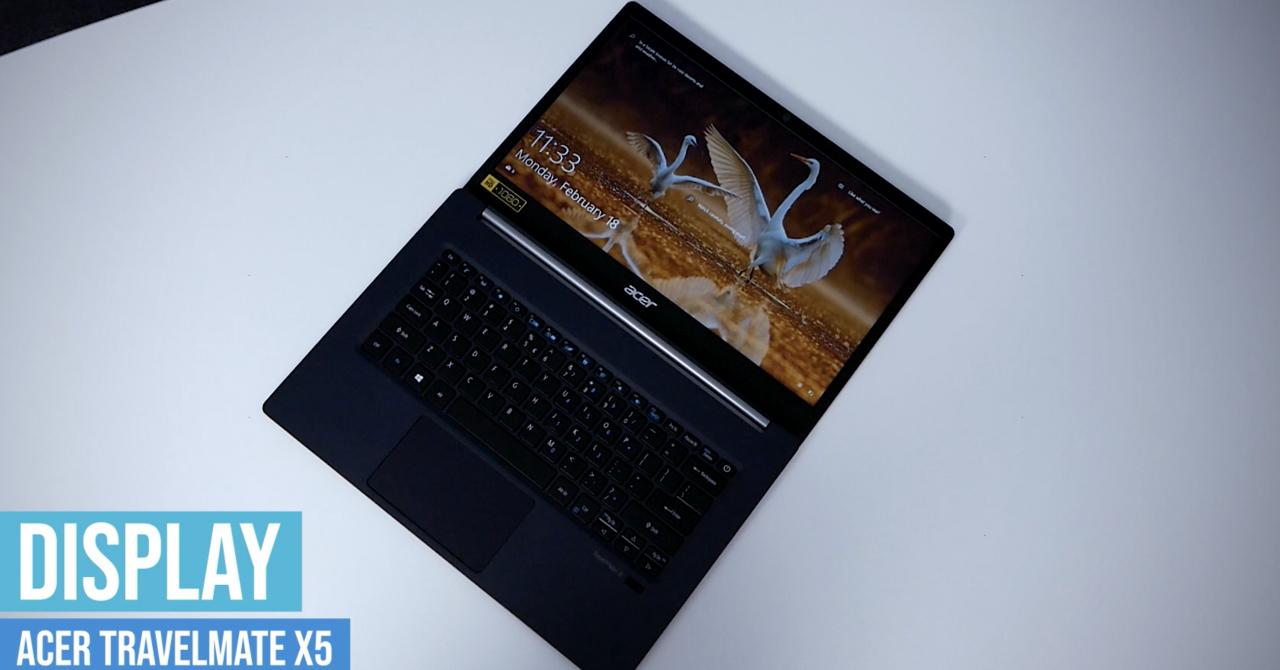 Review Acer TravelMate X5 - pentru biroul antreprenorilor nomazi