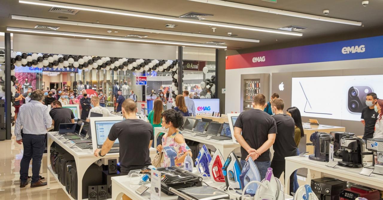 eMAG își continuă exinderea și deschide primul showroom în Bulgaria