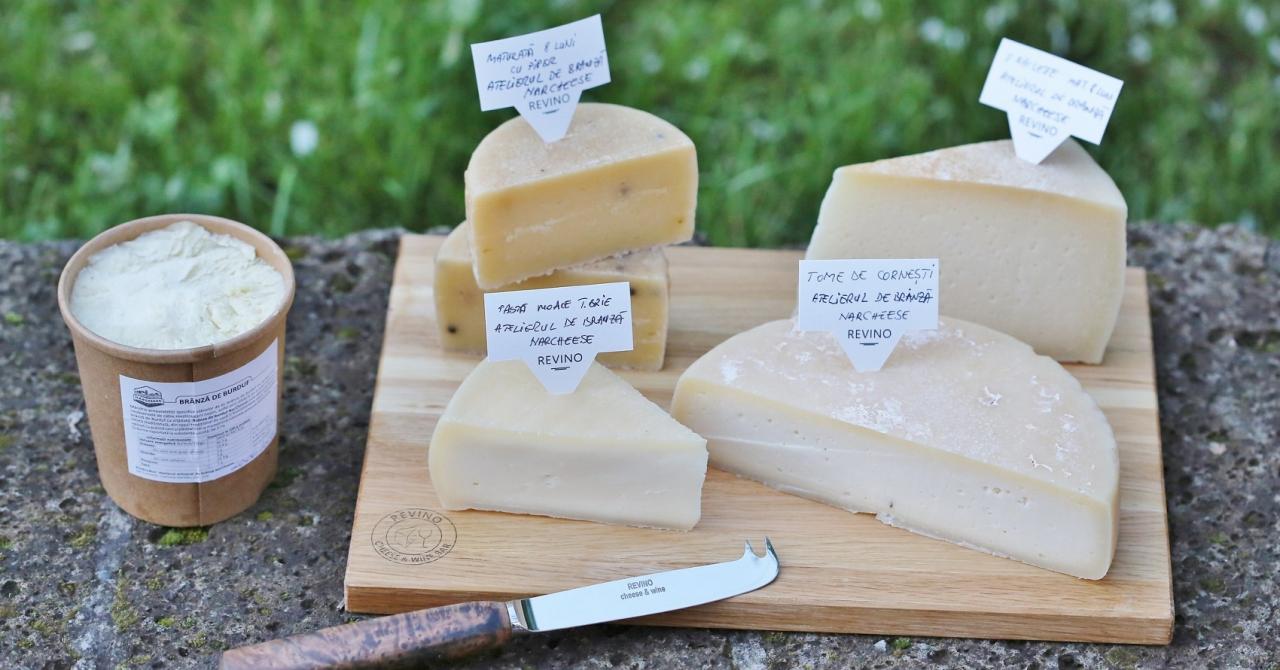 Harta producătorilor români de brânzeturi: unde-i poți găsi în toată țara