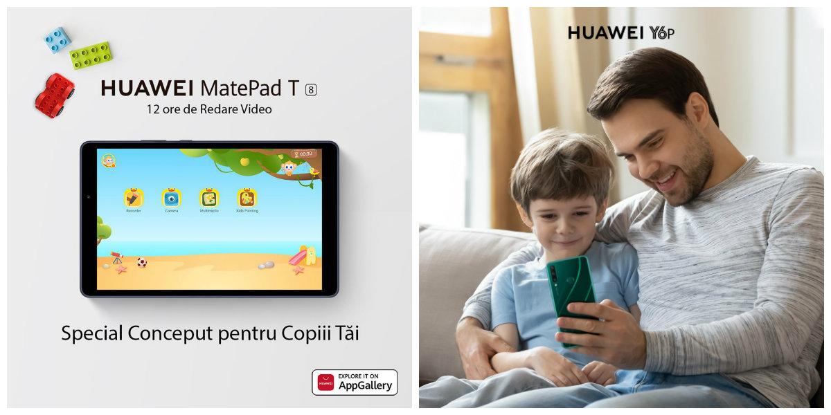 Idei de cadouri de 1 iunie: Gadgeturi de la Huawei pentru Ziua Copilului