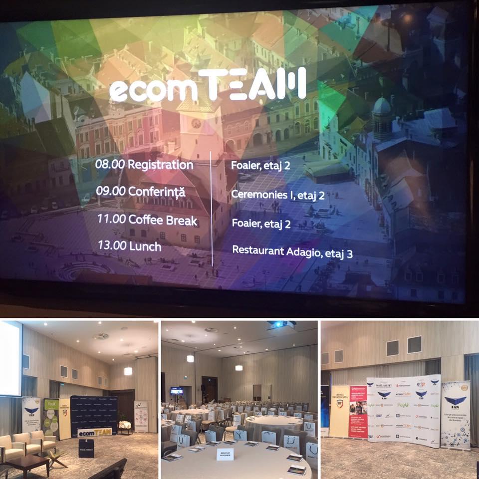 Totul despre ecommmerce-ul de astăzi - ecomTEAM 2017 live blogging