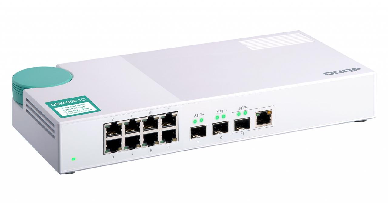 Aceste două switch-uri de la QNAP sunt perfecte pentru compania ta