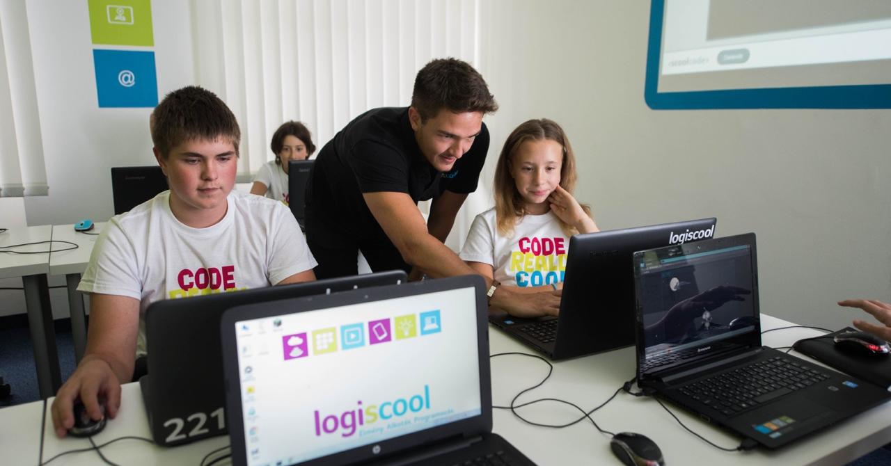 Școala de programare pentru copii - Logiscool vine la București