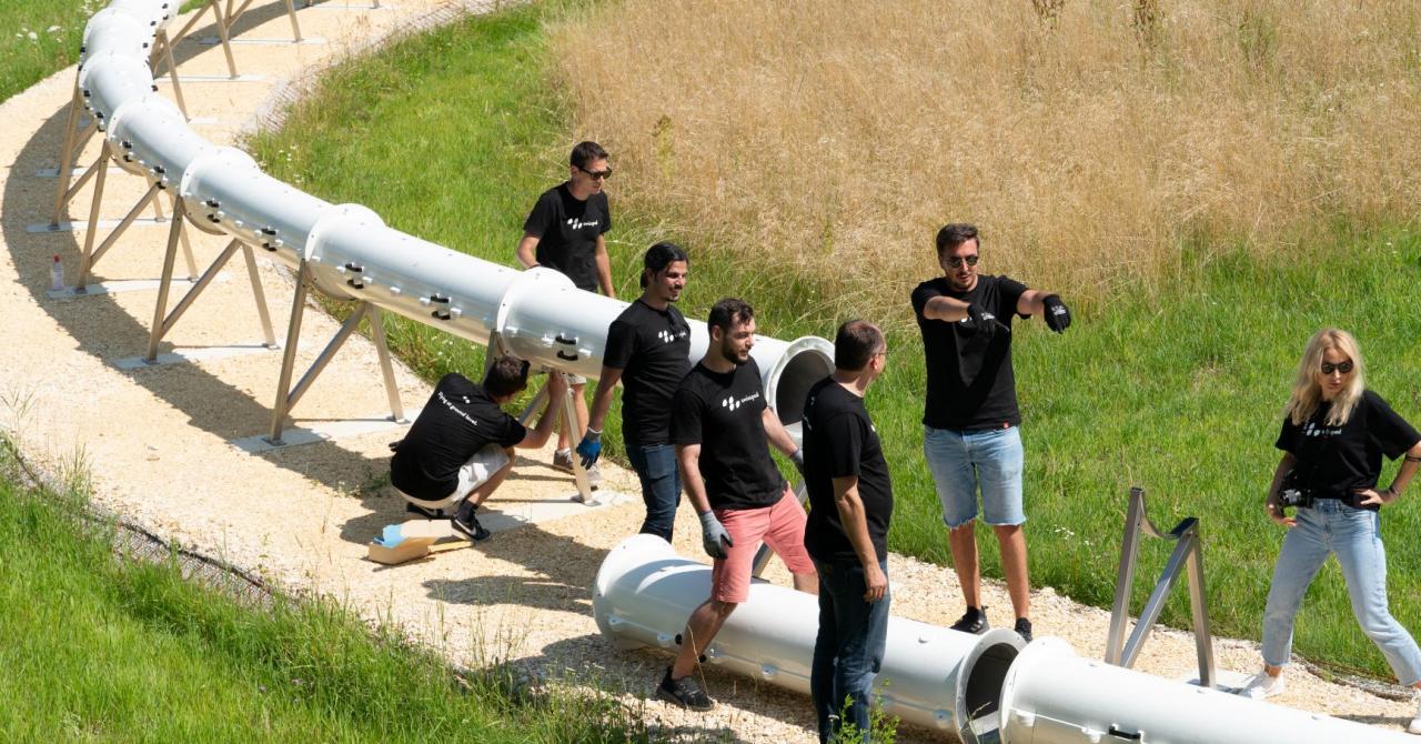 Swisspod, startup Hyperloop fondat de Denis Tudor, primul sit de test din Europa