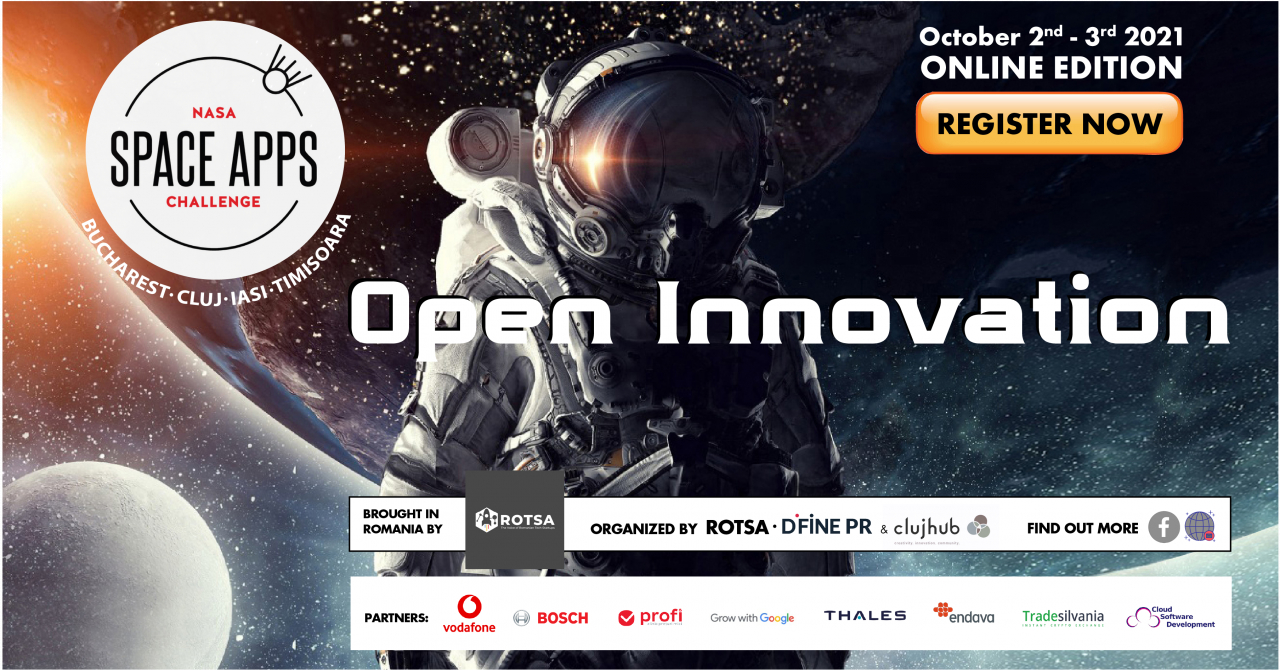 NASA Space Apps Challenge in Romania: over 150 participants registered