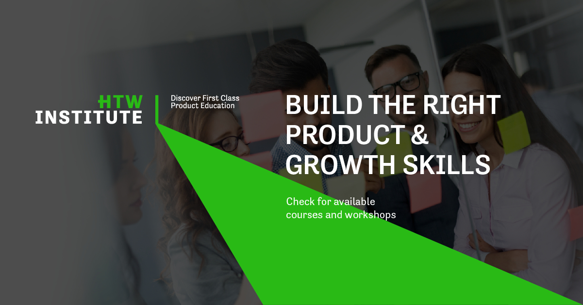 How to Web launches HTW Institute, a course provider in product management and growth