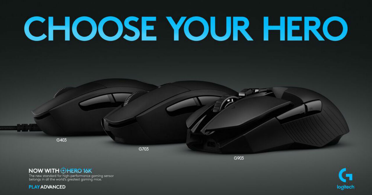 Mouse-uri de gaming de la Logitech cu performanță și precizie mai bune