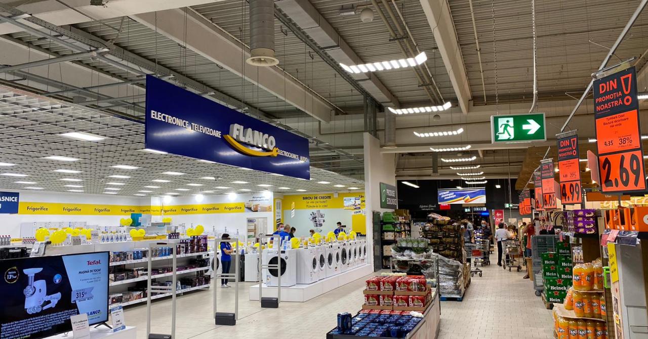 """Flanco și Kaufland, parteneriat pentru un magazin de tipul """"shop-in-shop"""""""