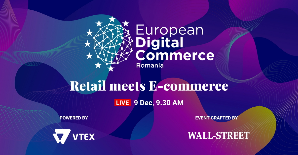 European Digital Commerce: Înscrie-te pentru ultimele trenduri din ecommerce