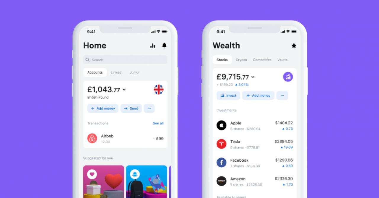 Revolut, versiune nouă de aplicație. Va introduce cashback