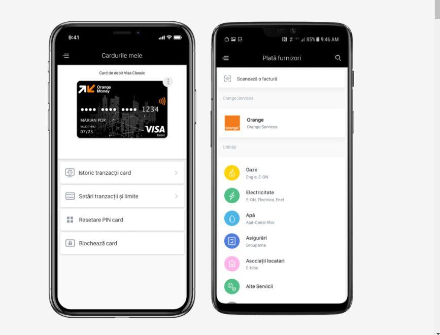 Cardul de credit Orange Money se obține acum 100% digital din aplicație