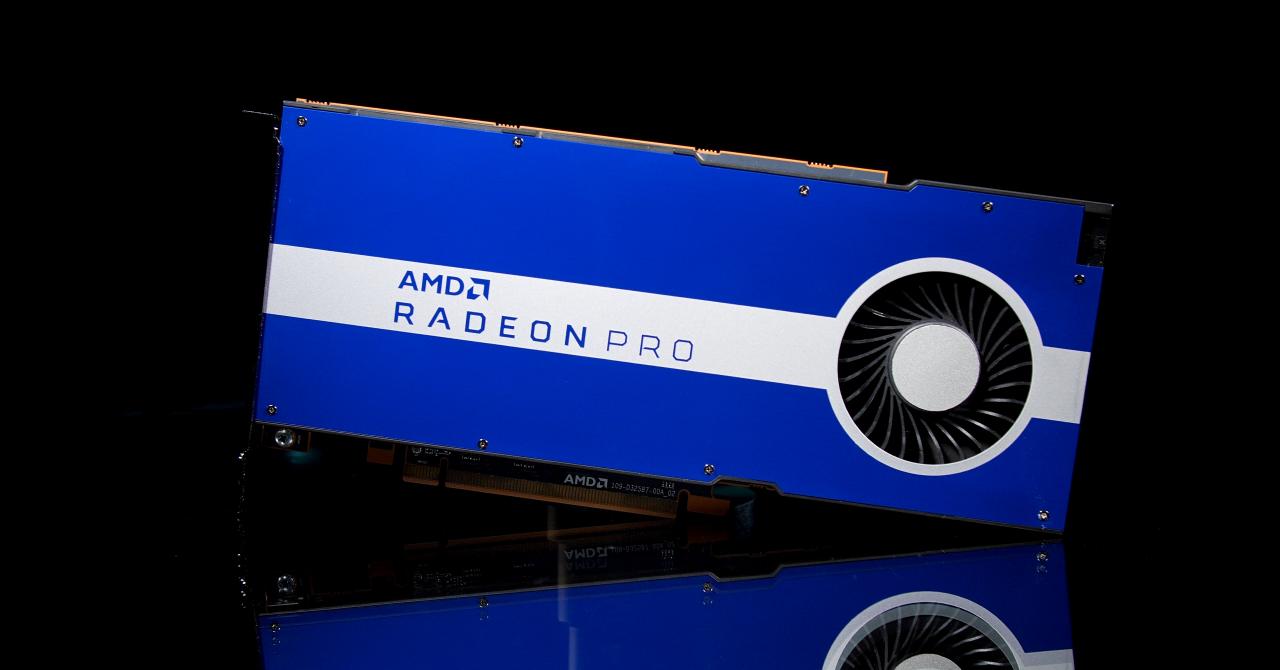 AMD anunță Radeon Pro W5500, placă video pentru profesioniști