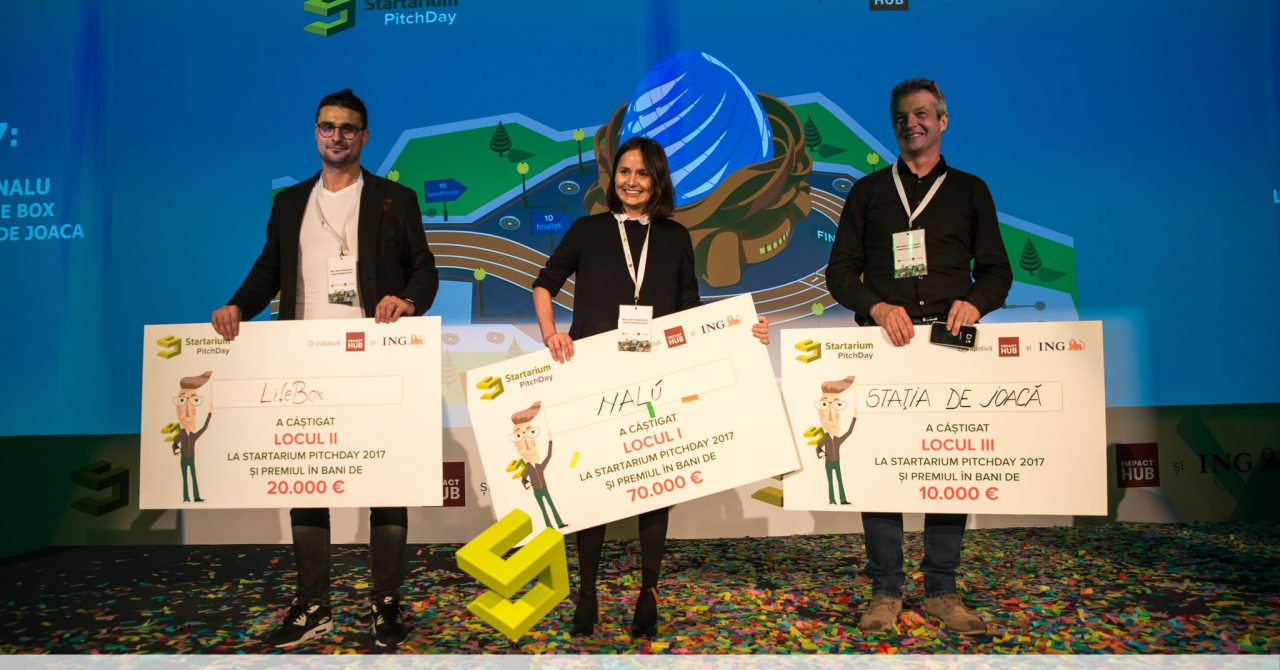Startarium PitchDay 2018 - înscrieri deschise și premii mai mari