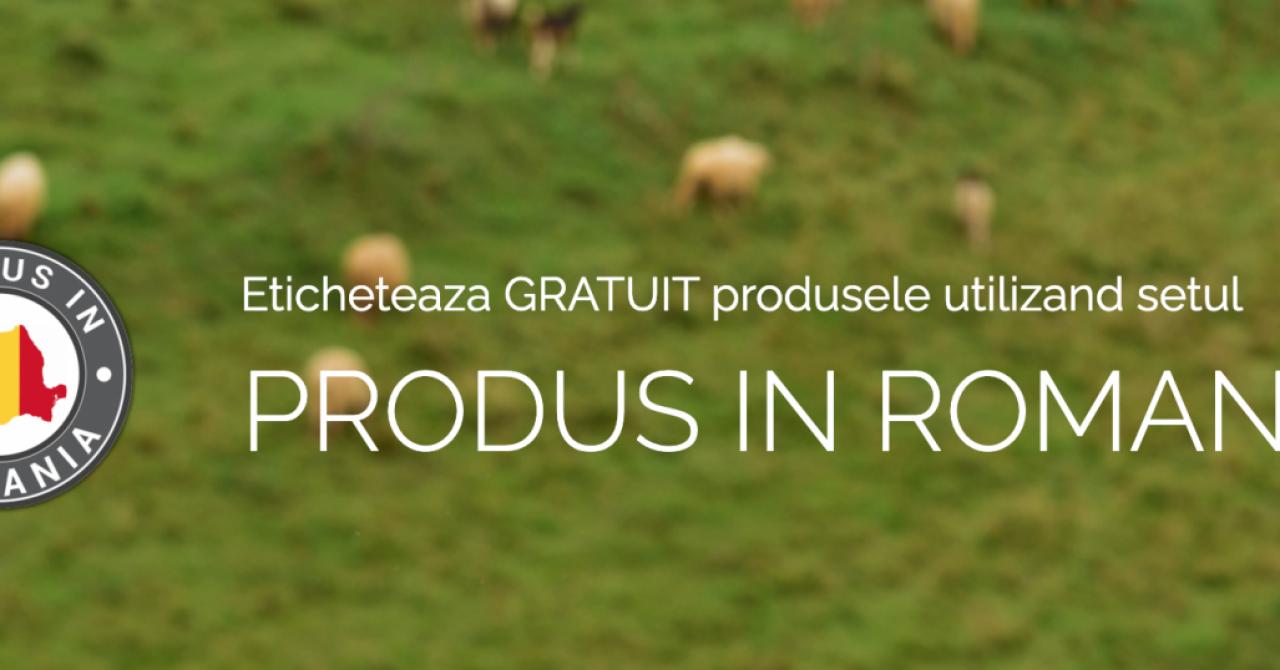 """Ajutor pentru producători: IT Genetics face gratis etichete """"Produs în România"""""""