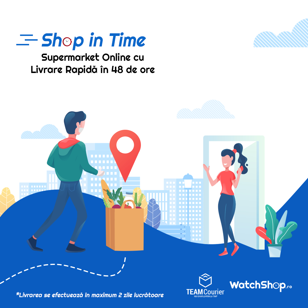 Coronavirus | Magazinul de ceasuri WatchShop.ro deschide supermarket online