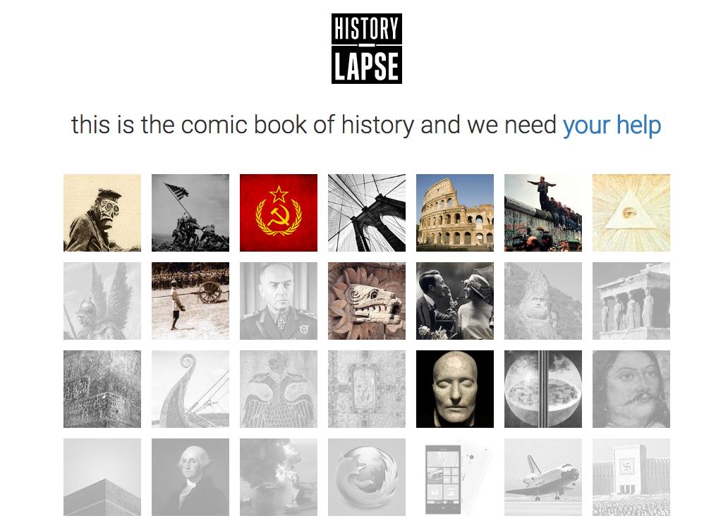 Istoria învățată ca o bandă desenată - ideea a doi români