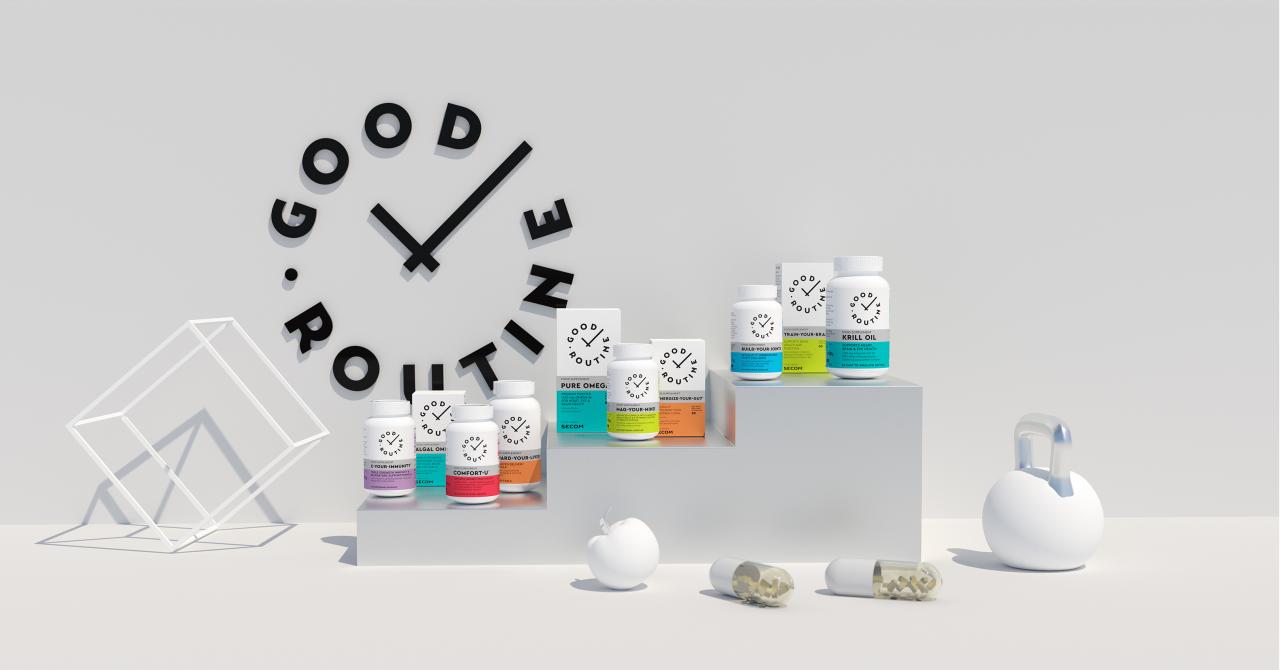 Românii de la SECOM lansează un nou brand de suplimente alimentare: Good Routine