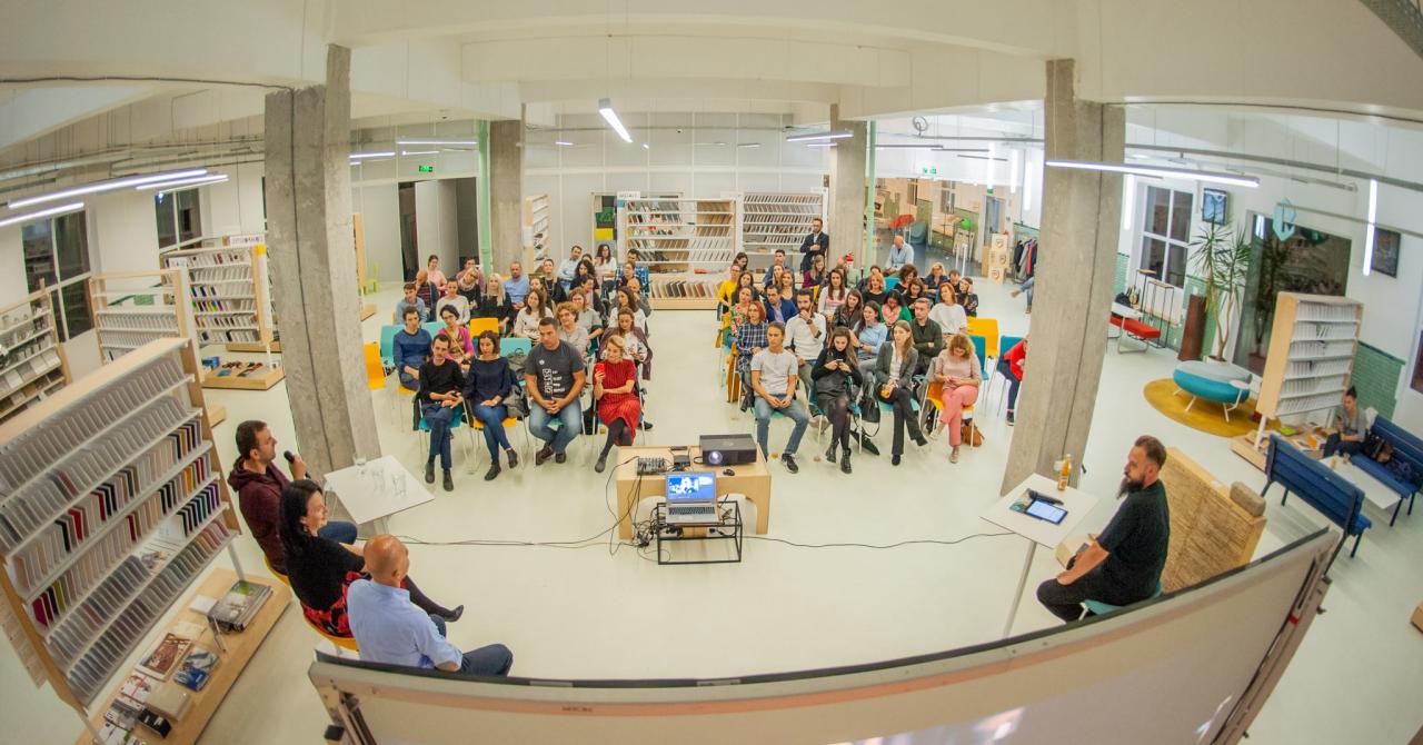 NO.MAD Talks: povești despre idei bune și creativitate în freelancing