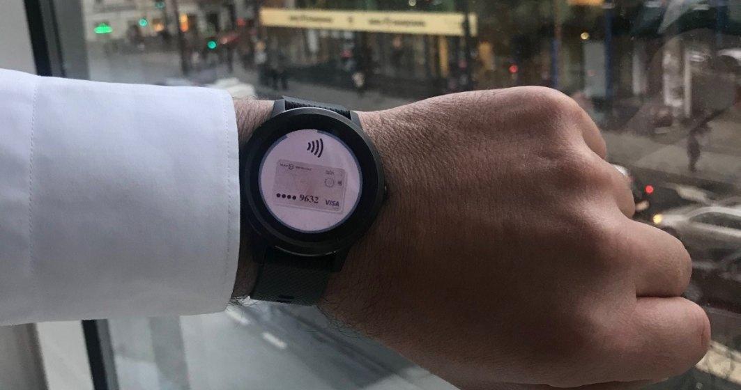 Clienții BT pot plăti cumpărăturile cu ceasul inteligent