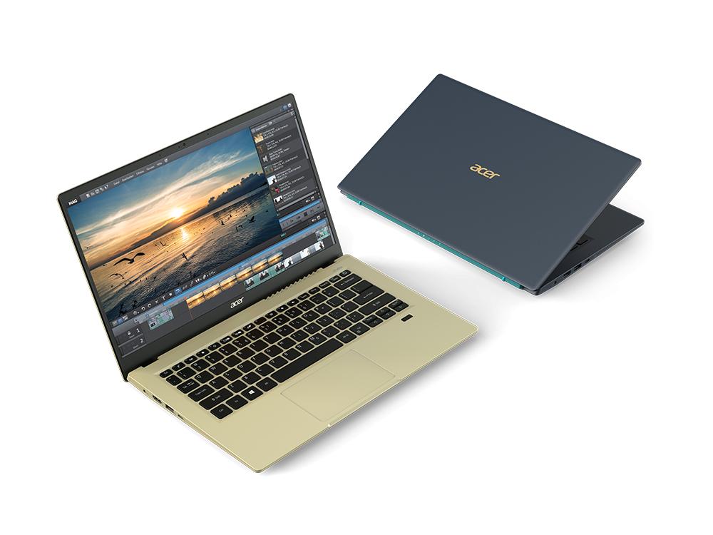 Laptopuri Acer Swift, Acer Spin și Aspire, noi generații cu procesoare Intel