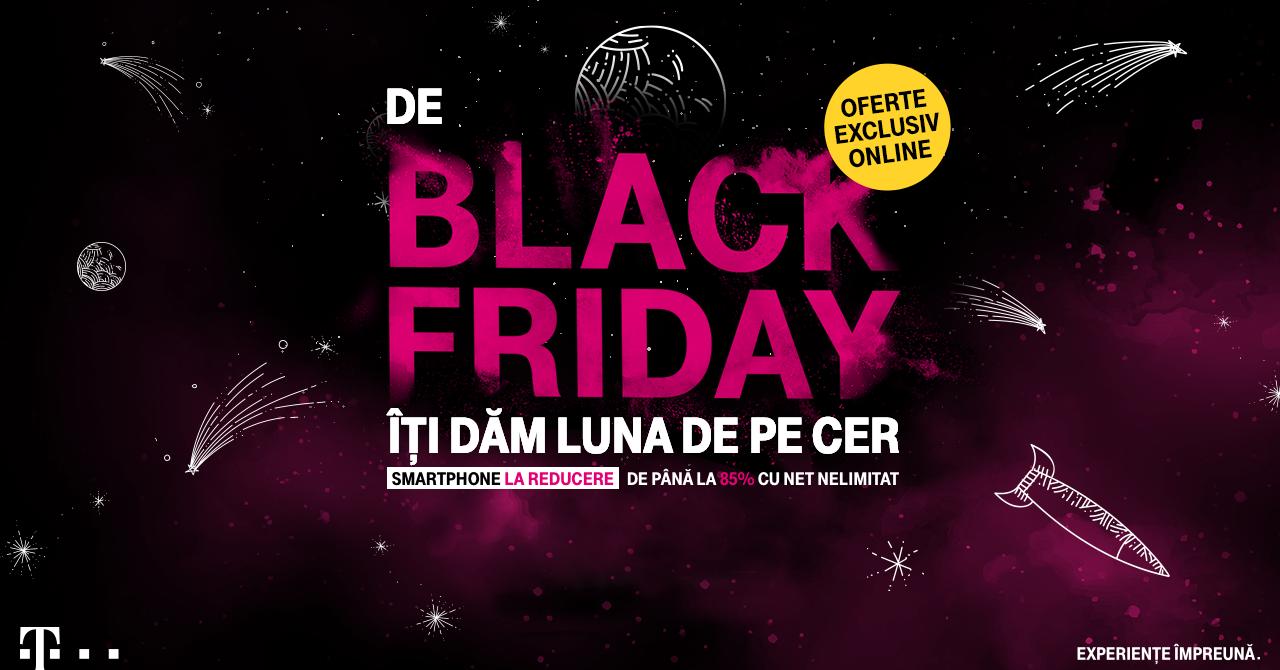 Telekom Black Friday 2019: Reduceri de până la 85% la telefoane